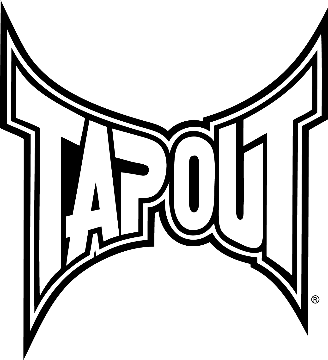 tapout logo red mma - photo #14