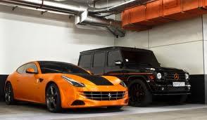 Ferrari & G Wagon