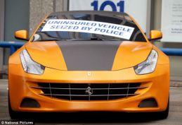 Seized Ferrari